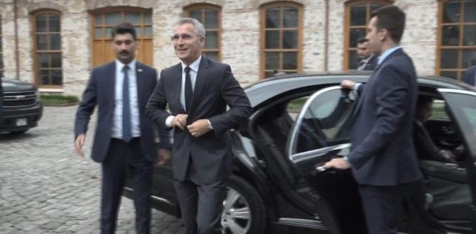 NATO Genel Sekreteri İstanbul'da