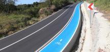 16 yılda 72 km'lik bisiklet yolu inşa edildi