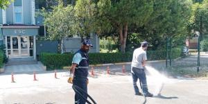 İzmit Belediyesi Temizlik İşleri bayramda da durmadı