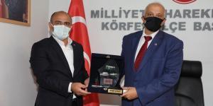 Başkan Söğüt'ten MHP'ye ziyaret