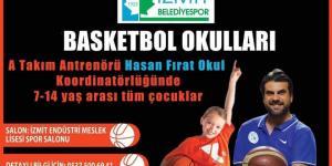 Fırat Okul'dan basketbol okulu