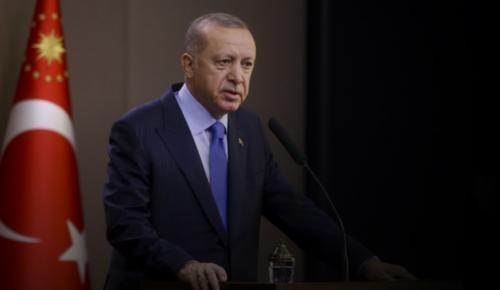 """""""Terörle ve destekçileriyle mücadelemizi sürdüreceğiz."""""""