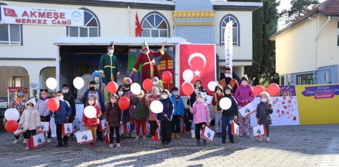 İzmit Belediyesi, Akmeşeli çocukları gülümsetti