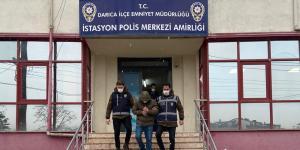 Hırsızlık zanlısı Darıca'da yakalandı