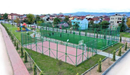 O parkın adı Mustafa Okur Parkı oldu