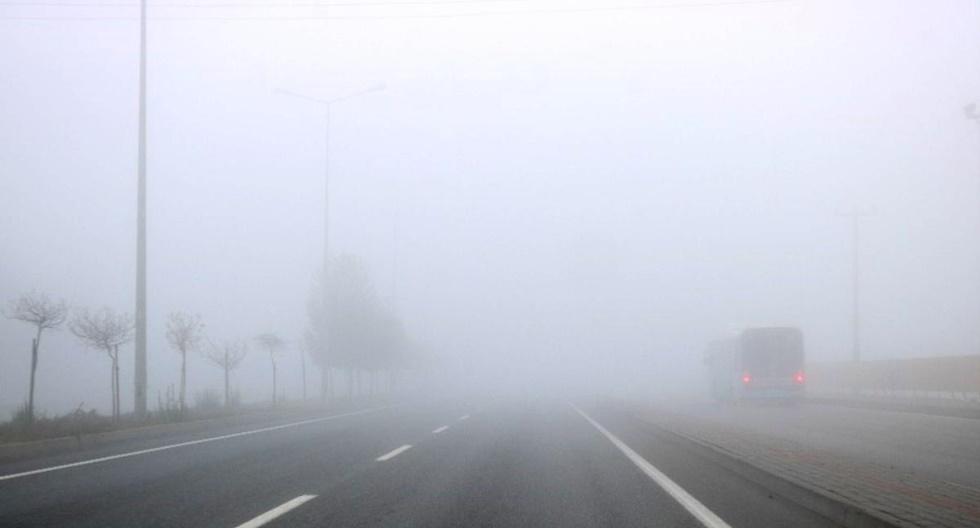 Sabah saatleri için sis uyarısı var