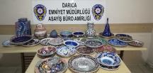 650 Bin lira değerinde eser çalan zanlı yakalandı