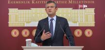 CHP GRUP BAŞKANVEKİLİ ÖZEL'İN BASIN TOPLANTISI