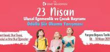 İzmitli çocuklar 23 Nisan coşkusunu Videolu Şiir Yarışması ile yaşayacak