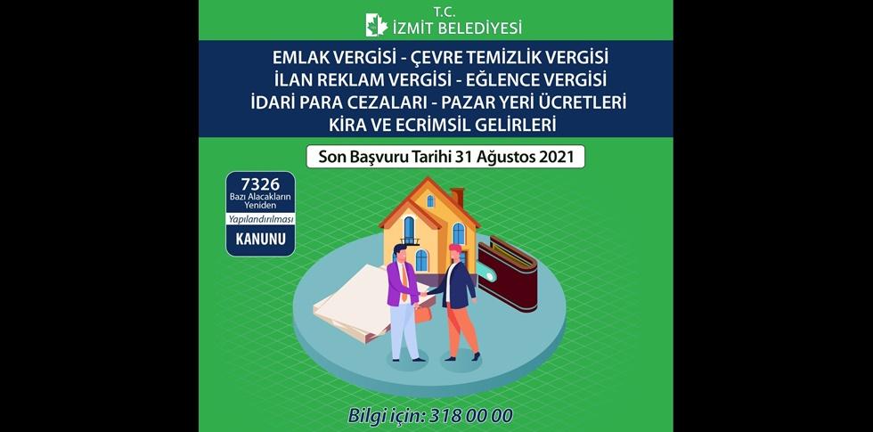 Vergi yapılandırması sürüyor:  Son gün 31 Ağustos