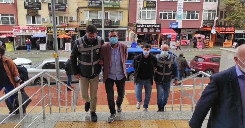 Sahte altıncılar tutuklandı