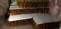 Yapılan operasyonda 90 bin 515 litre kaçak içki yakalandı
