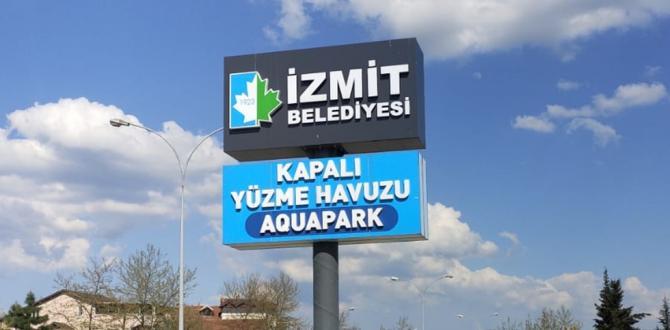 İzmit Belediyesi Bayındırlık'taki yüzme havuzunu elden geçirdi