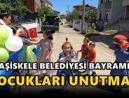 Başiskele Belediyesi Bayramda Çocukları Unutmadı