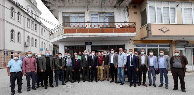 Başkan Büyükakın, Gündoğdu Mahallesini ziyaret etti