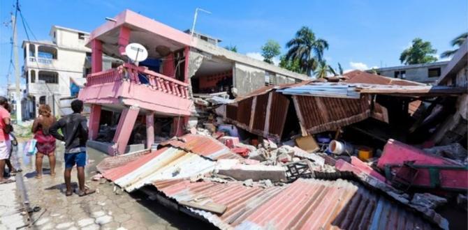 Haiti'de 7.2 büyüklüğünde deprem