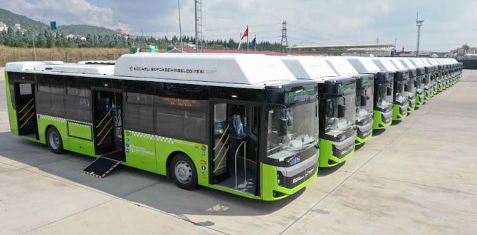 Kocaeli'nin yeni otobüsleri geldi
