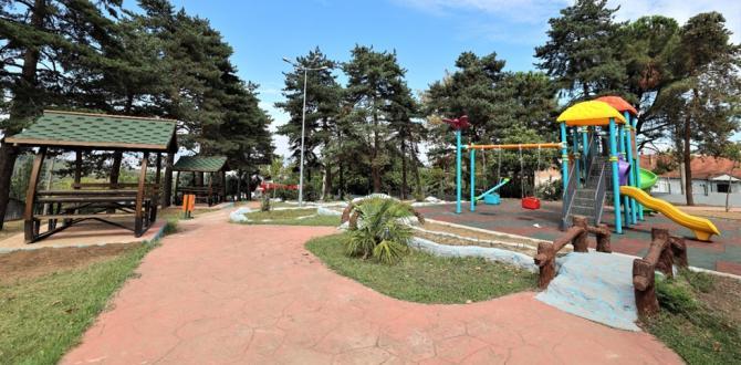 Cumhuriyet Parkı Modern Görünümüyle Yeniden Hizmette