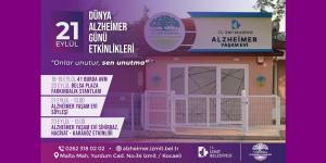 İzmit Belediyesi Alzheimer hastalığına  dikkat çekecek