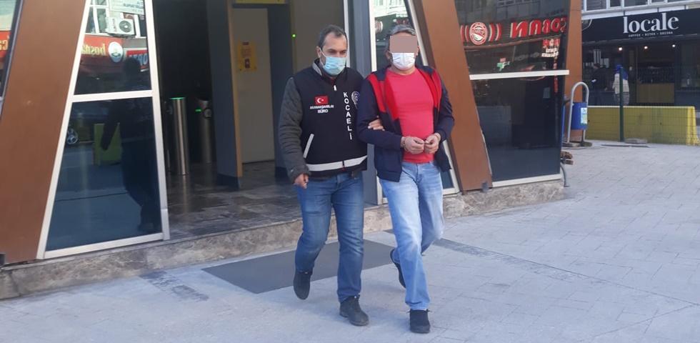 8 Yıl ağır hapis cezası ile aranan M.Y. Çayırova'da yakalandı