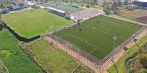 Kullar Futbol Sahası tamamlandı