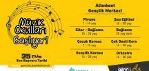 Başiskele'de Ücretsiz Müzik Okulları Yeniden Başlıyor